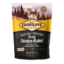 Carnilove Fresh Adult Dog csirke & nyúl - Muscles, Bones & Joints 1,5kg