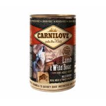 CarniLove Konzerv Adult Bárány-Vaddisznó 400gr
