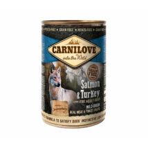 CarniLove Konzerv Adult Lazac-Pulyka 400gr