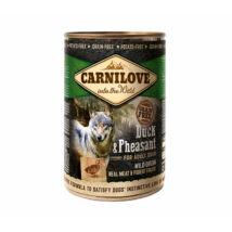 CarniLove Konzerv Adult Kacsa-Fácán 400gr