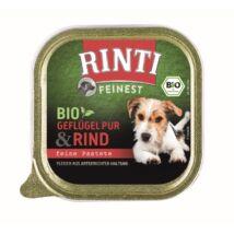 Rinti Dog Bio Alutálkás Marha-Baromfi150g