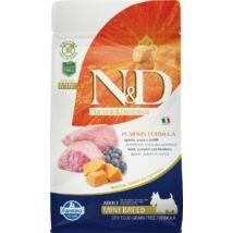 N&D Dog Grain Free bárány&áfonya sütőtökkel adult mini 800g