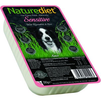 Naturediet Müa.Tálkás Sensitive 390g