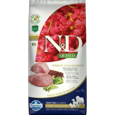 N&D Dog Quinoa Weight Management Bárány 7kg